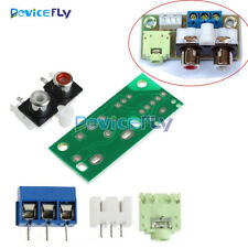 Audio Switch Board 3.5mm RCA Socket Input Block Stable 5V DIY Kit for Amplifier