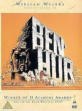 Ben-Hur (DVD, 2001) CHARLTON HESTON WILLIAM WYLER NEW SEALED REG 2 DVD