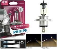 Philips VIsion Plus 60% 9003 HB2 H4 60/55W One Bulb Head Light Dual Beam Lamp