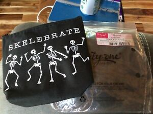 Thirty One - snack and go pouch - SKELEBRATE- NWT
