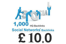 1000 Backlinks di qualità da siti di social network! proposta d'acquisto su eBay!