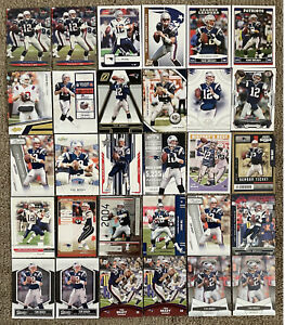 Tom Brady Lot 59 Cards (43 Different) - Most In PSA, BGS 10 Gradeable Condition