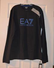 Emporio Armani Men's long sleeve T-shirt Navy size L