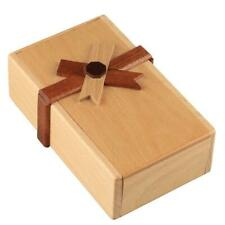 Puzzle Gift Case Box with Secret Compartments Wooden Money Box to Challenge