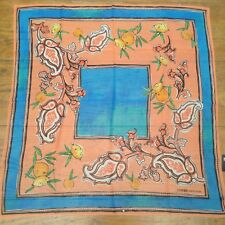 Outstanding NWT COVERI COLLECTION  XL Silk Scarf