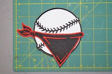 "Quad Cities River Bandits 5"" Throwback Minor League Baseball Jersey Patch"