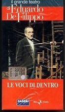 EDUARDO DE FILIPPO - LE VOCI DI DENTRO - FABBRI-RAI 2003  -  VHS SIGILLATO