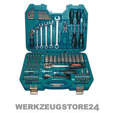 Makita 83-tlg Werkzeugset im Tragekoffer P-90093 - Bitset Steckschlüssel Ratsche