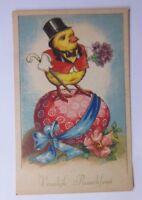 Ostern, Personifiziert, Küken, Zylinder, Osterei,     1940 ♥  (58760)