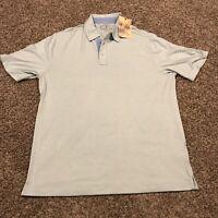 island republic Polo Shirt Mens L Light Green NWT A44