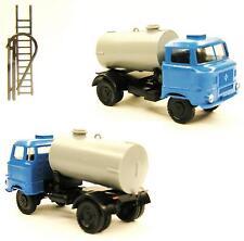 TT IFA Lkw W 50 L/F Fäkalientransport Wasserwagen Tankwagen blau grau Tank DDR