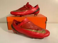 Nike Mercurial Vapor IV Red Superfly R9 FG IV Size 9,5 43 8,5