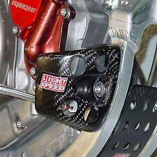 Carbon Fiber Case Guard Set LightSpeed 022-04460 For Honda CRF450R CRF450X