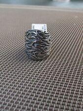 Scott Kay designer ring 925 sterling silver Sparta engraved thorns size 7 new