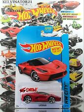 Hot Wheels 2014 #38 Laferrari RED,1ST COLOR,NEW CASTING,PR5,VERY NICE,US