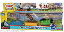 NIP TAKE n PLAY Die-Cast PERCY'S CATAPULT 3PK Thomas Engine Fisher Price KING