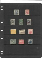 HAWAII SCOTT #39/82 USED collection 11 different