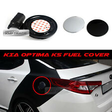 Fuel Oil Gas Tank Black Cover Garnish Trim Assembly For KIA 2011 - 15 Optima K5