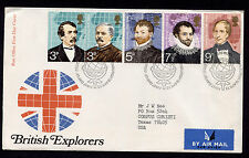 1972 Britain Edinburgh British Explorers Fdc
