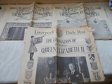 3 Liverpool Echo Supplements Of The Life Of H.M.Queen Elizabeth II