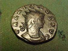 More details for roman bronze antoninianus of  gallienus  253-268 ad. good very  fine condition.