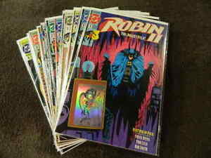 14) 1991 DC Comics ROBIN II The Jokers Wild #1-4 Complete + All Variants JOKER