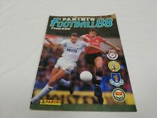 Preowned Panini Football 88 Sticker Album Part Filled 136 / 574 Good Condition
