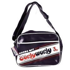 Cadbury's Chocolate Curly Wurly Retro Vintage Shoulder Purple Messenger Bag 8808