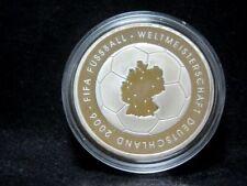 """Silbermünze 925er: BRD 10 Euro 2003 """"FIFA Fußball WM Deutschland 2006"""" PP"""