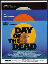 DAY OF THE DEAD__Original 1985 Cannes Trade AD promo / poster__George A. Romero