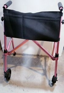 EZ Fold-N-Go Walker - Rose