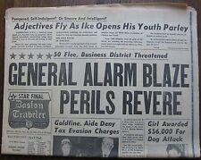 "Newspaper: ""Boston Traveler Five-Star Final"" March 28, 1960: Celtics Playoffs"