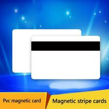 10pcs PVC PLASTIC BLANK WHITE CREDIT CARD 30 MIL With Loco Magnetic Stripe AU