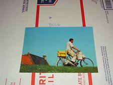 Heineken Logo Advertising Beer Mug Bar Tap Glass Postcard cooler bike man ride a