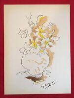 George Braque, Composition, Plate Signed Mourlot Lithograph 1955,Vintage,Rare