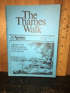 The Thames Walk, A Guide To The 156 Mile Walk. From Putney To The Source