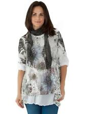 Unbranded 3/4 Sleeve Floral Tops & Blouses for Women