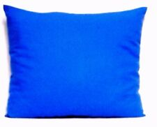 Toddler Pillow on Solid Royal Blue Color 100%Cotton Rb2 New Handmade