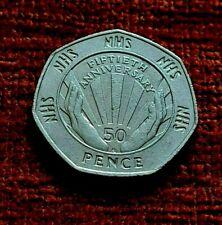 1998 NHS 50th Anniversary 50p piece