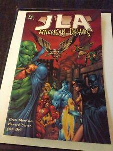 DC Comics JLA American Dreams Graphic Novel