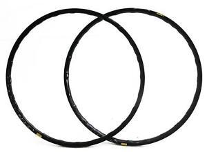 2 QTY MAVIC Open Pro Disc UST Tubeless 700c 28 Hole 28H Road Bike Rims Black NEW