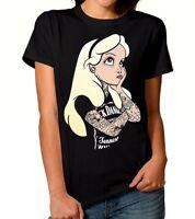 Alice In Wonderland Punk Rock Disney T-shirt, Men's Women's All Sizes