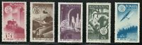 Romania 1947 MNH Mi 1078-1082 Sc B370-B373,CB12 Congress of Romanian Engineers**