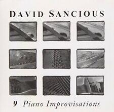 Sancious, David - 9 Piano Improvisations CD NEU OVP