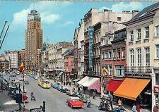 BF14974 anvers place de meir et gratte ciel tramway belgium front/back image