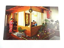 VINTAGE POSTCARD NIKKO SUKIYAKI RESTAURANT SAN FRANCISCO COLOR MIKE ROBERTS