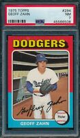 1975 Topps Set Break # 294 Geoff Zahn PSA 7 *OBGcards*