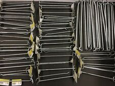 Store Display Hooks Huge Lot Double & Single Supermarket Rack Price Shelving 50