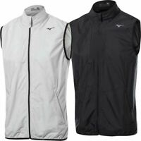 MIZUNO WIND VEST ULTRALIGHT MENS WINDLITE PERFORMANCE GOLF GILET 60% OFF RRP
