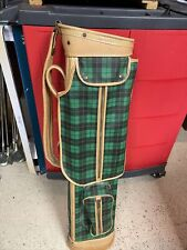 Vintage Sunday Golf Bag . 50s Very Good Condition